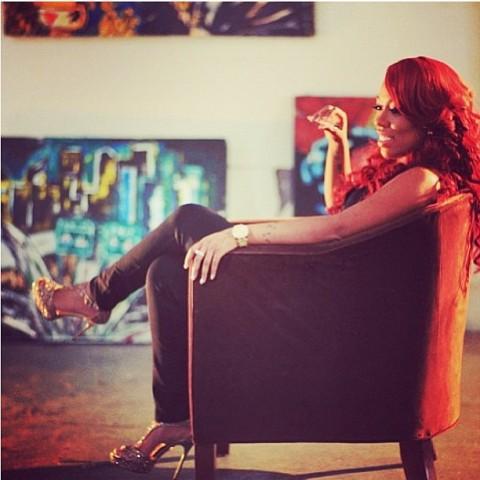 Photos: K Michelle hits up 106 & Park plus bonus shots ... K Michelle 2013 Instagram