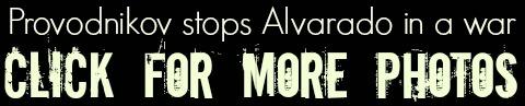 PROVODNIKOV stops Alvarado