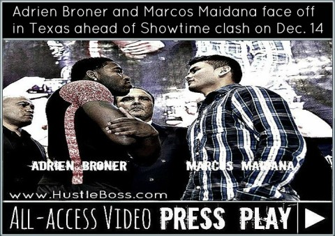 Broner and Marcos face off...