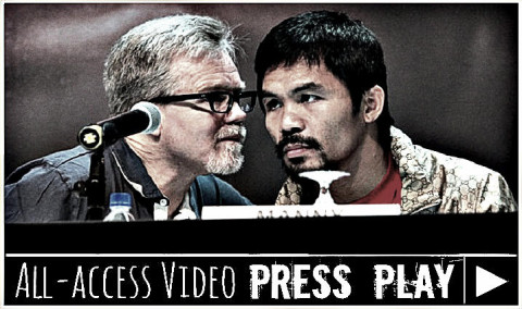 Freddie Roach on floyd and pac