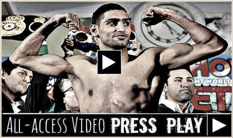 Amir Khan weigh in (2)