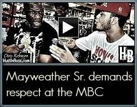 Floyd Sr. respect