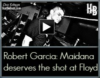 Robert Garcia on Marcos