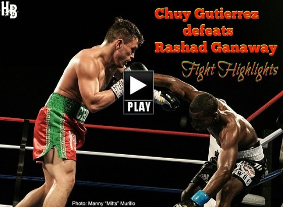 Chuy defeats Rashad Sunday night