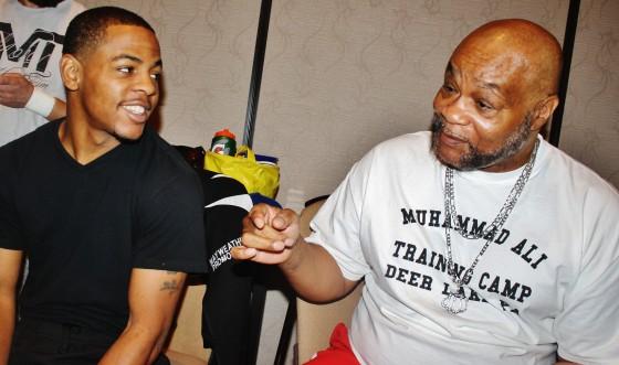 LaDarius Miller and Eddie Mustafa Muhammad