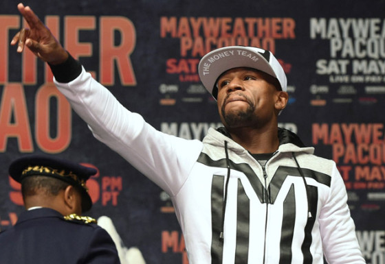 Floyd-Mayweather-arrival-for-Pacquiao-fukuda - Copy