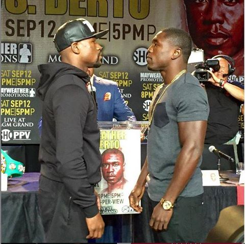 May vs Berto FACE