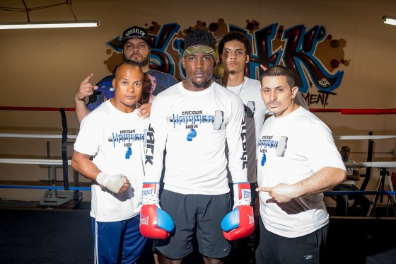 "CASSELBERRY, FLORIDA - FEBRUARY 16: Undefeated Erickson ""Hammer"" Lubin, who is trained by Jason Galarza training during media day for his upcoming bout on March 4th, at the School of Hard Knocks Boxing Gym on February 16, 2017 in Casselberry, Florida (photo by Douglas DeFelice/Prime 360 Photography)"