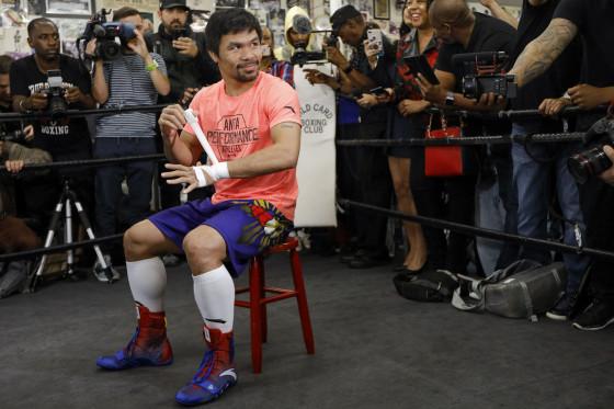 Manny Pacquiao Workout