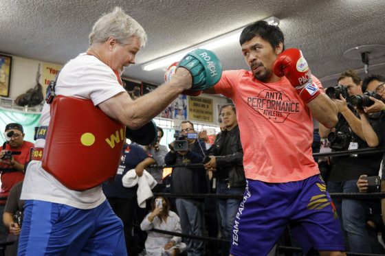 Manny Pacquiao Workout