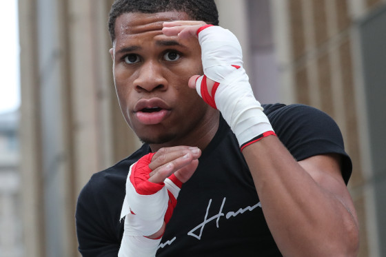 Boxing: Devin Haney vs Zaur Abdullaev Public Workouts