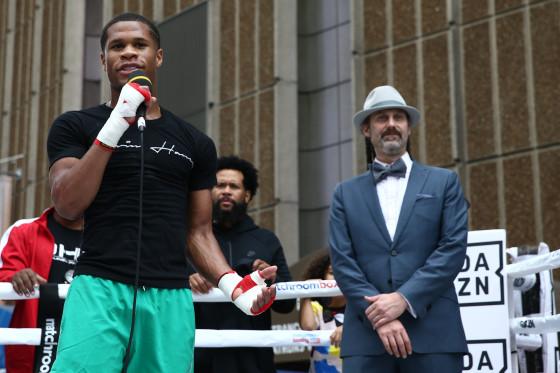 Boxing: Devin Haney vs Zaur Abdullaev Public Workouts