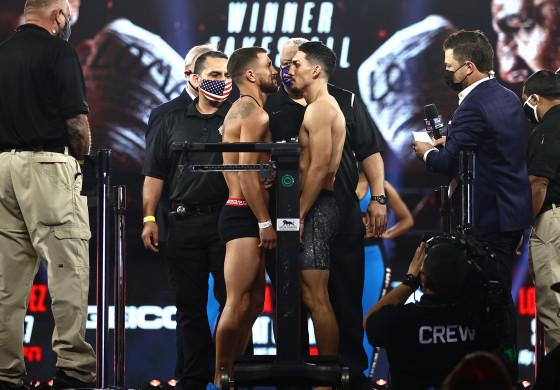 Vasiliy_Lomachenko_vs_Teofimo_Lopez_mid_faceoff