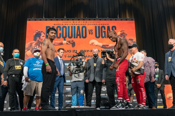 Pacquiao vs Ugas Weigh-in - 08.20.2021_08_21_2021_Weigh-in_Ryan Hafey _ Premier Boxing Champions